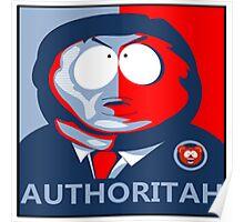 Cartman 2016 - AUTHORITAH Poster