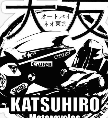 Akira Katsuhrio Cycles Sticker