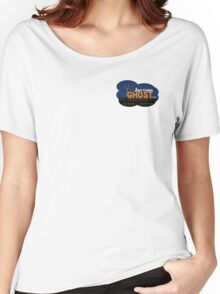 Anything Ghost Tree Logo - Blue Women's Relaxed Fit T-Shirt