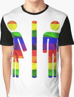 Equal Access & Equal Rights in North Carolina Graphic T-Shirt
