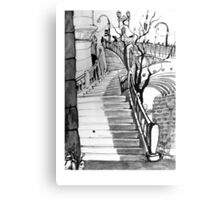 Stairs to Flinders Street Canvas Print