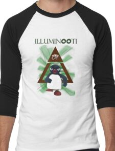 Illuminooty Men's Baseball ¾ T-Shirt