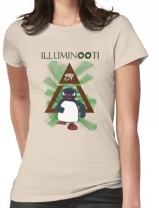 Illuminooty Womens Fitted T-Shirt