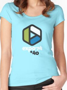 Expo '74 + 40 Women's Fitted Scoop T-Shirt