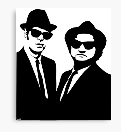 Blues Brothers Canvas Print