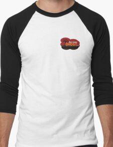 Anything Ghost Tree Logo - Red Men's Baseball ¾ T-Shirt