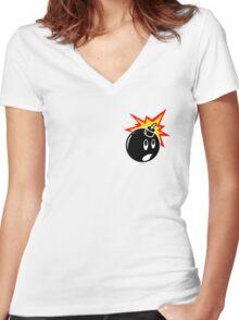 The Hundreds  Women's Fitted V-Neck T-Shirt