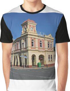 Post Office, Queenstown, Tasmania Graphic T-Shirt
