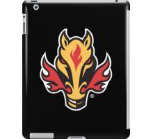 Calgary Flames Nhl logo Merch iPad Case/Skin