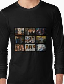 "Psych ""in Character"" Collage Long Sleeve T-Shirt"