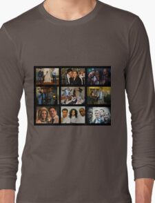 """Psych """"in Character"""" Collage Long Sleeve T-Shirt"""