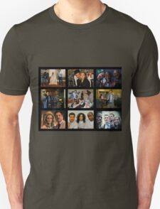 "Psych ""in Character"" Collage Unisex T-Shirt"