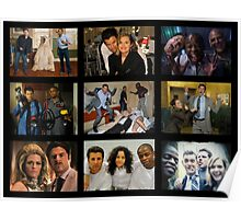 "Psych ""in Character"" Collage Poster"