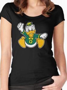 Oregon Ducks Women's Fitted Scoop T-Shirt