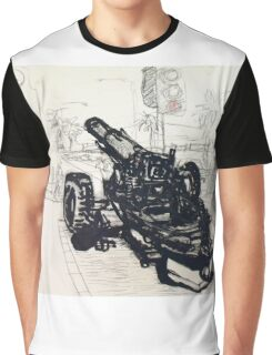 Thinking of a friend in Afghanistan. (Mordialloc) Graphic T-Shirt