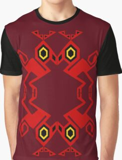 Red Raptor #2 Graphic T-Shirt