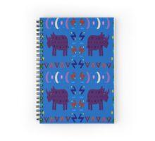 Rhino Sky #2 Spiral Notebook