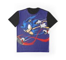 Sonic Sprinting  // Fan-Art  Graphic T-Shirt