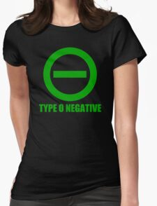 TYPE O NEGATIVE Womens Fitted T-Shirt