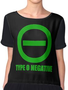 TYPE O NEGATIVE Chiffon Top