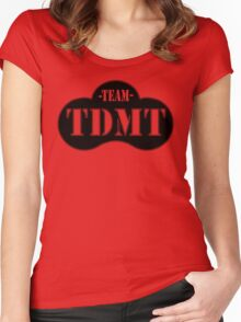 TEAM TDMT Women's Fitted Scoop T-Shirt