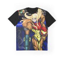 Samus <3 - Super Metroid FanArt Graphic T-Shirt
