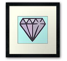 Diamonds in the Sky!! Framed Print