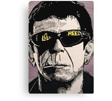 LOU REED Canvas Print