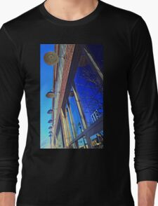 A Row of Lights Long Sleeve T-Shirt