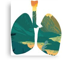 LUNGS Canvas Print