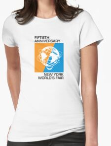New York World's Fair - Fiftieth Anniversary Womens Fitted T-Shirt