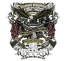 United States Veteran Photographic Print