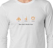 New York's World's Fairs Long Sleeve T-Shirt