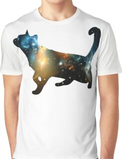 CELESTIAL CAT Graphic T-Shirt