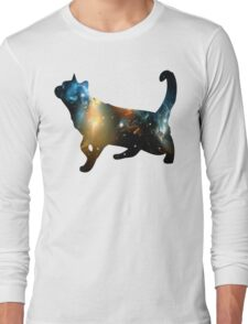 CELESTIAL CAT Long Sleeve T-Shirt