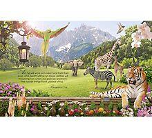 Revelation 21:4 (Paradise Inspired) Photographic Print