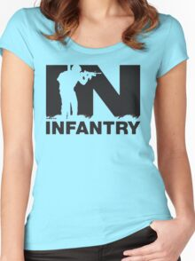 Army Infantry Women's Fitted Scoop T-Shirt