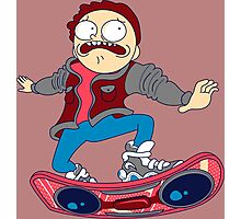 morty skate Photographic Print