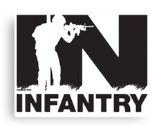 Army Infantry Canvas Print