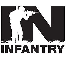 Army Infantry Photographic Print