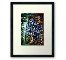 3997 Gothic Patterns Framed Print