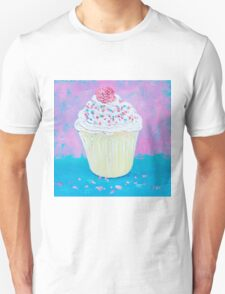 Cupcake with frosting Unisex T-Shirt