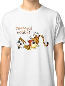 Calvin and hobbes laugh moment Classic T-Shirt