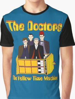 The Yellow Time Machine (Plain Background) Graphic T-Shirt