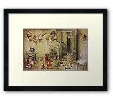 Abandoned Toys II for Duvets Framed Print