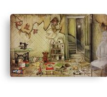 Abandoned Toys II for Duvets Canvas Print
