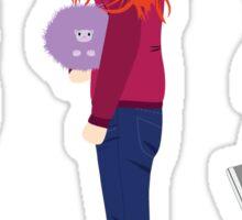 Neville Longbottom, Ginny Weasley and Luna Lovegood Sticker