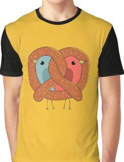 Love in pretzel Graphic T-Shirt