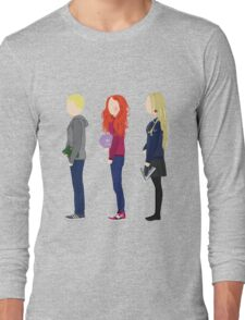 Neville Longbottom, Ginny Weasley and Luna Lovegood Long Sleeve T-Shirt