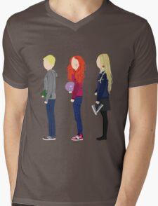 Neville Longbottom, Ginny Weasley and Luna Lovegood Mens V-Neck T-Shirt